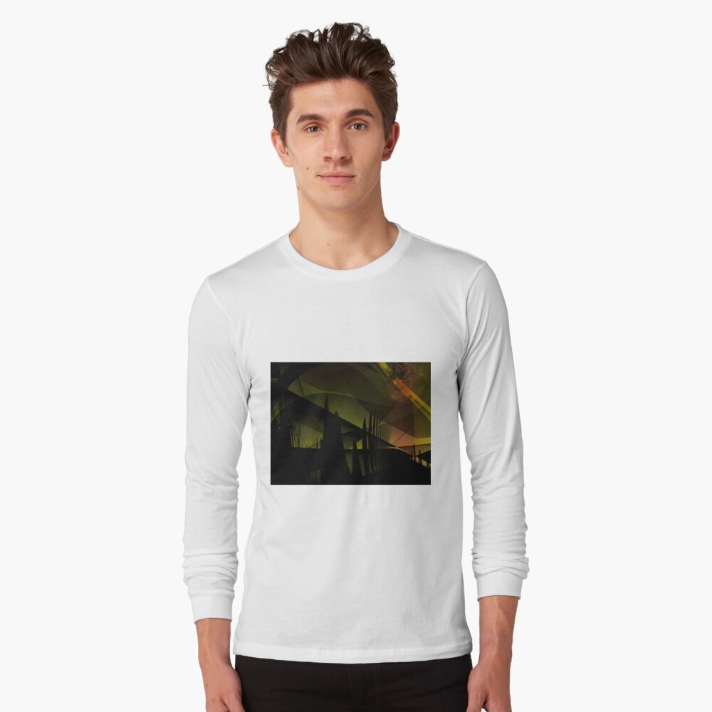 Abstract Landscape Art Long Sleeve T-Shirt