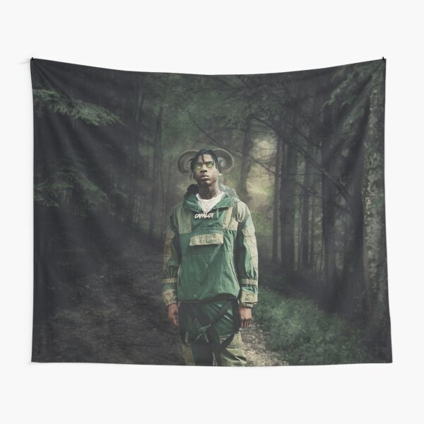 Polo Goat Design Tapestry