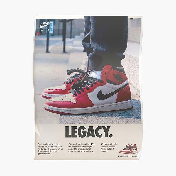 zapatillas legacy kick Póster