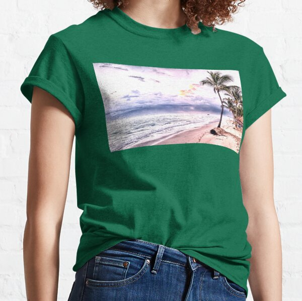 Palm in the sky Classic T-Shirt