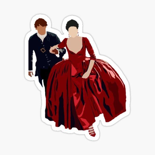 Jamie et Claire-France Sticker