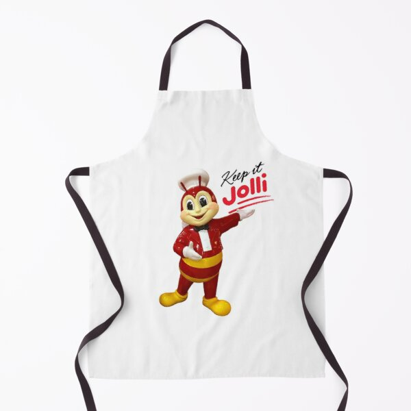 Jollibee mascot statue: Keep it Jolli Apron