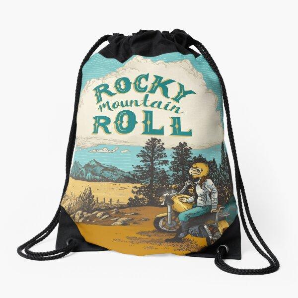 ROCK MTN ROLL Drawstring Bag