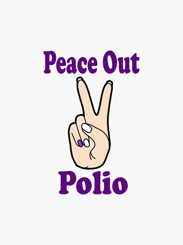 Peace Out Polio by MegsBubble