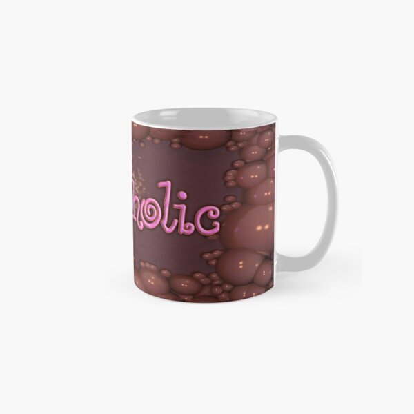 Chocoholic Choccie Bubbles Classic Mug