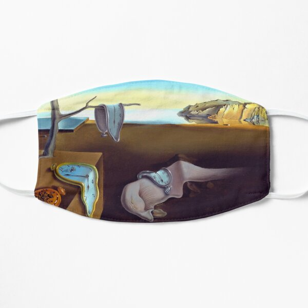 Salvador Dali The Persistence of Memory 1931 Artwork, Wall Art, Prints, Posters, Tshirts, Men, Women, Kids Masque sans plis
