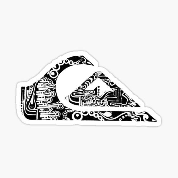 Batik Tulis Khas Planet Surf Sticker