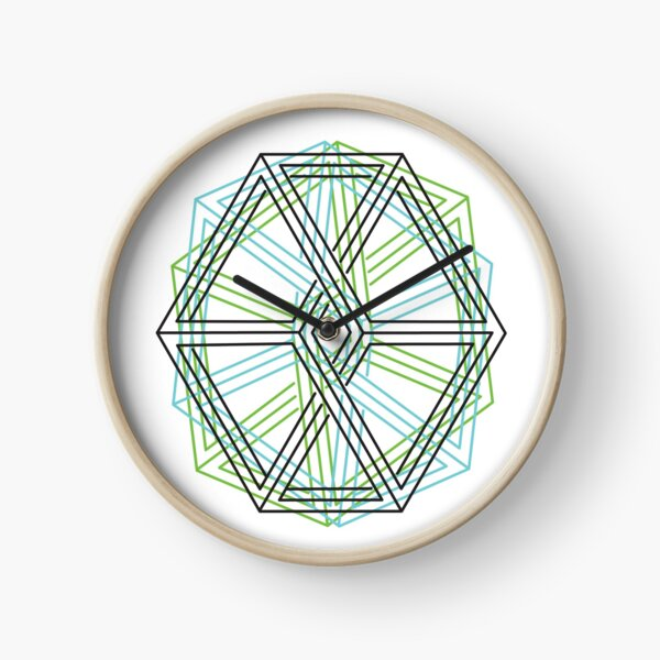 Penrose-Ornament Uhr