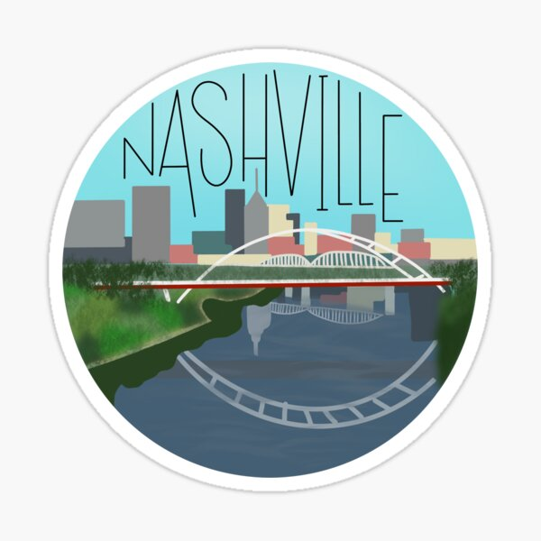 Nashville Sticker