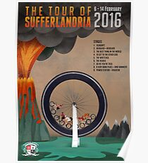 Tour of Sufferlandria 2016 - Official Artwork Poster