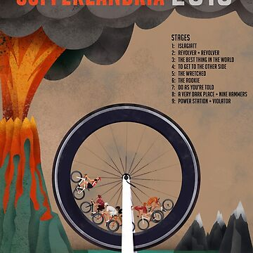 Tour of Sufferlandria 2016 - Official Artwork by bvduck