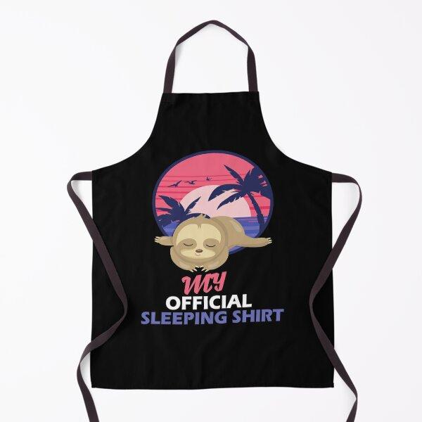Sweet Sloth Sleeping - Official Sleep Apron