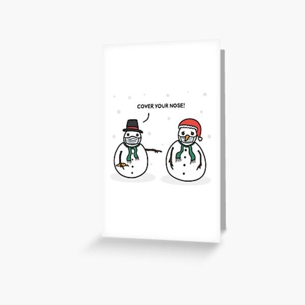 Christmas In Quarantine Greeting Card