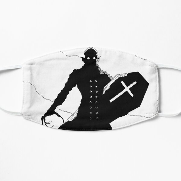 Nosferatu Minimalist Mask