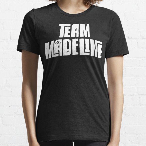 Womens Team Madeline Daughter Granddaughter Mom Dad Sports Team V-Neck Essential T-Shirt