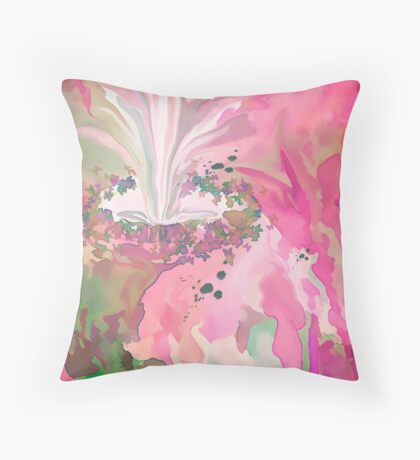 The Fountain Of Youth... Don't We Wish Throw Pillow