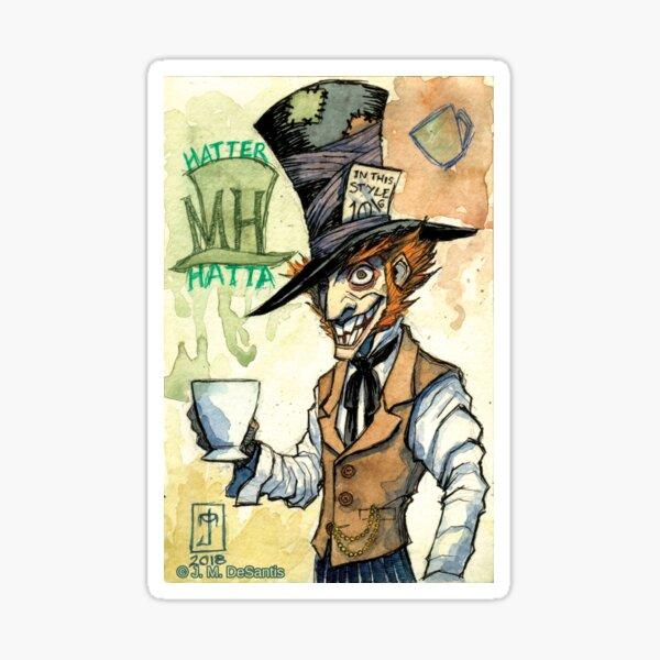 Mad Hatter Sticker