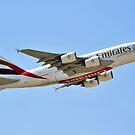 EMIRATIERT A380-861 REG A6-EEX von Graham Taylor