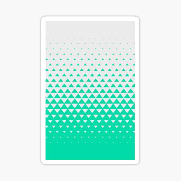 phone cover green color Sticker