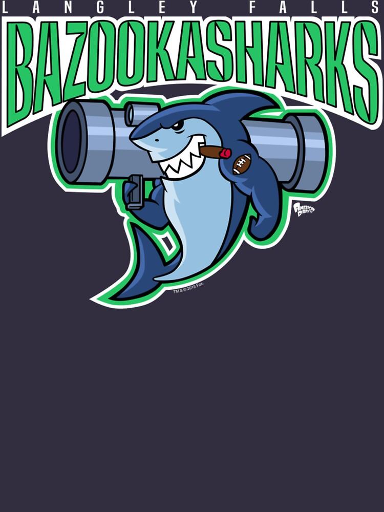 American Dad Bazooka Sharks Logo by DanteShop