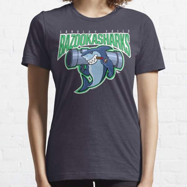 American Dad Bazooka Sharks Logo Essential T-Shirt