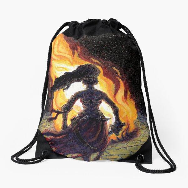 Chadhiyana: The Call of Fire Drawstring Bag
