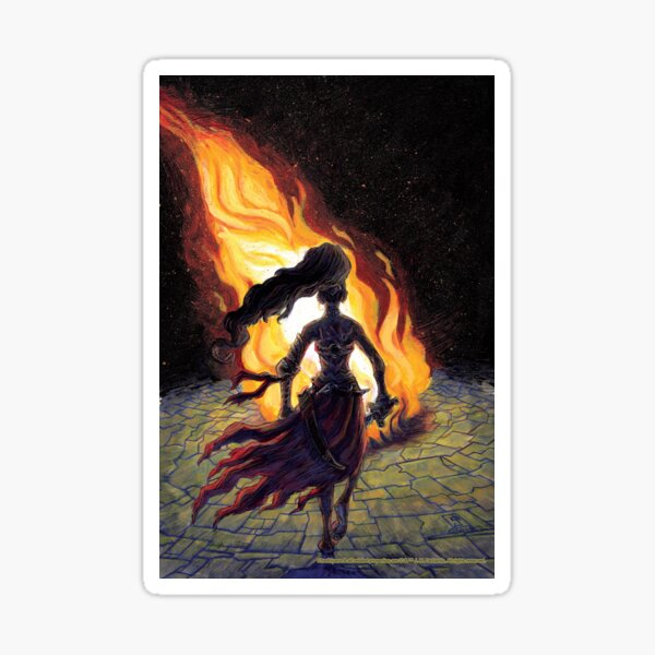 Chadhiyana: The Call of Fire Sticker