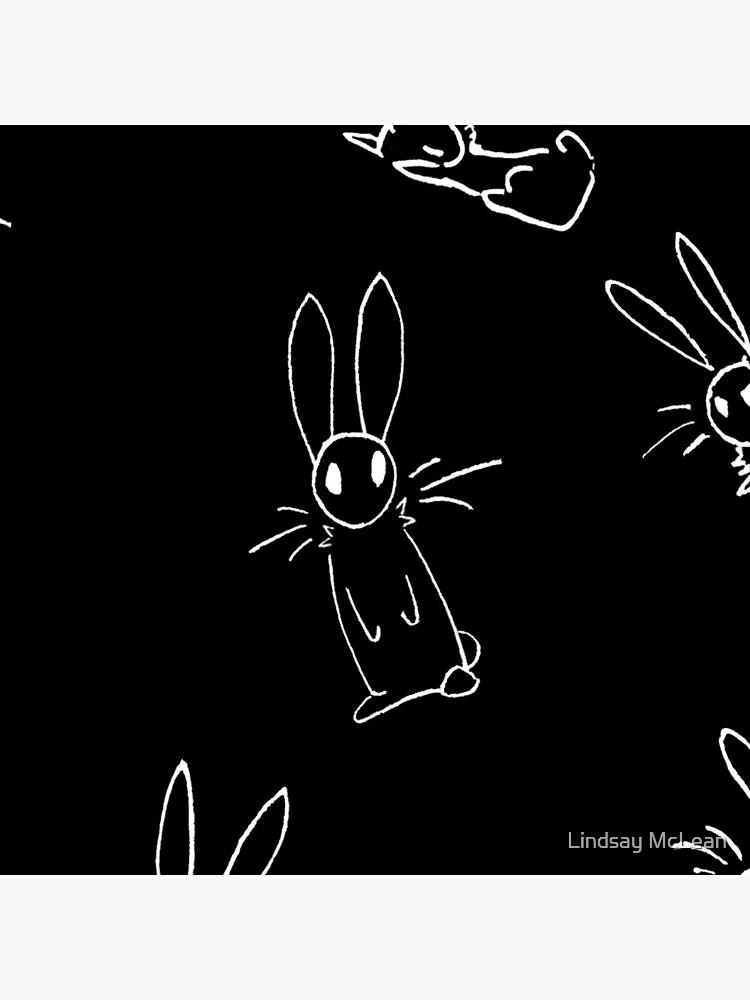 Doodle Bunnies Pattern by LindsayFoSho