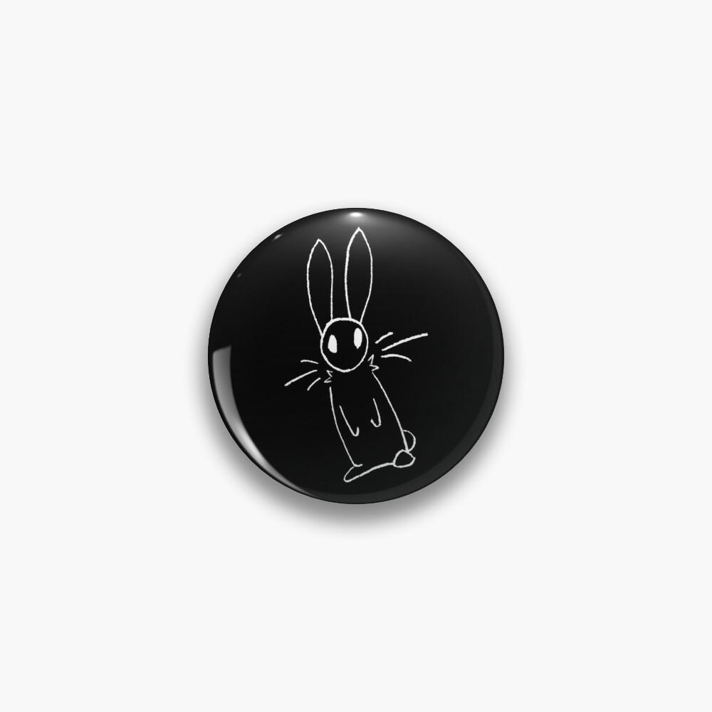 Doodle Bunnies Pattern Pin