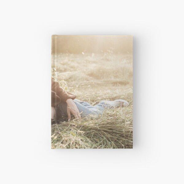 Man posing in nature #1 Hardcover Journal