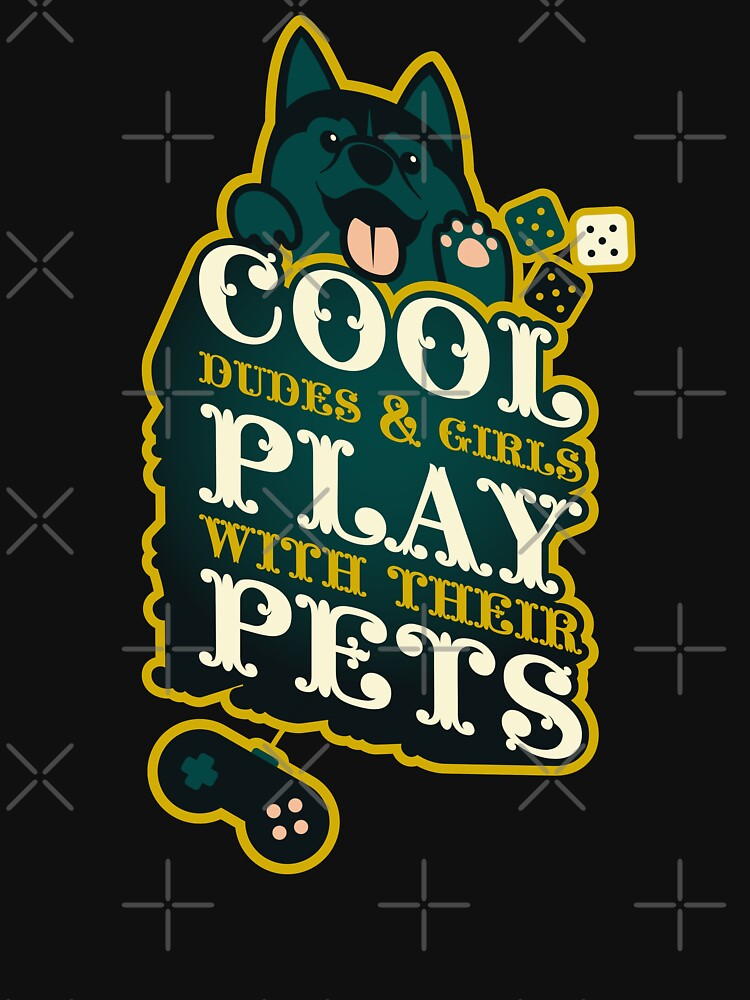 Cool Dudes and Girls Play With Their Pets by szymonkalle