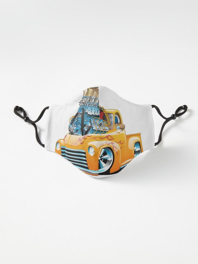 Alternate view of American Classic Hot Rod Pickup Truck Cartoon Mask
