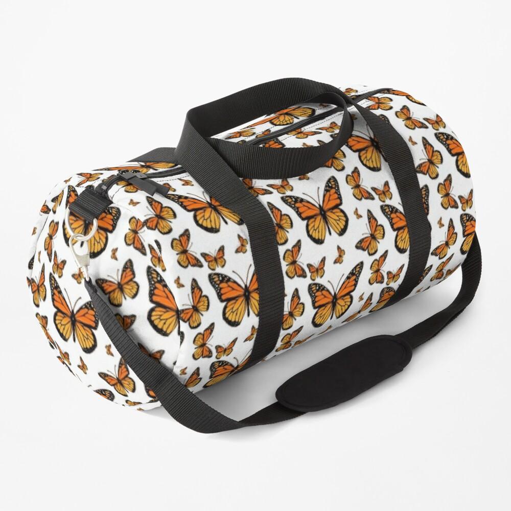 Monarch Butterfly Rapsody Duffle Bag