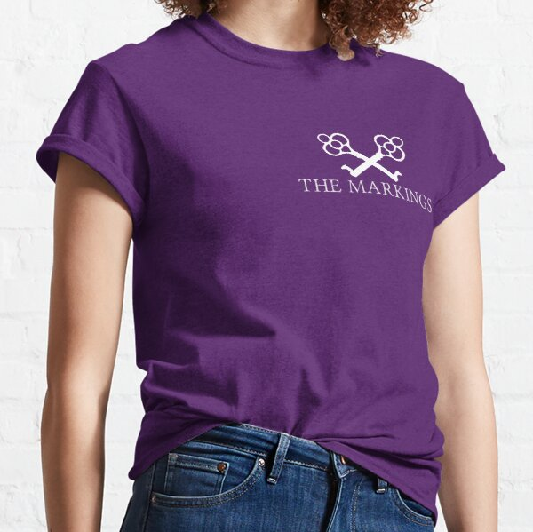 The Markings Logo (White) Classic T-Shirt