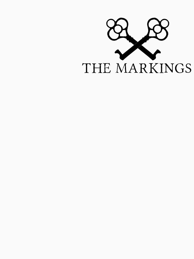 The Markings Logo (Black) by catherinedownen