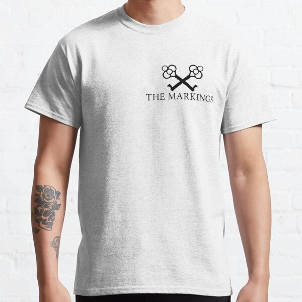 The Markings Logo (Black) Classic T-Shirt