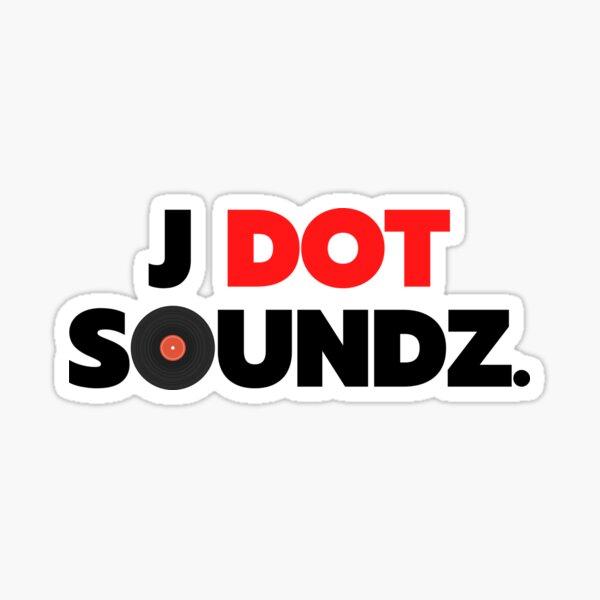 J Dot Soundz Sticker