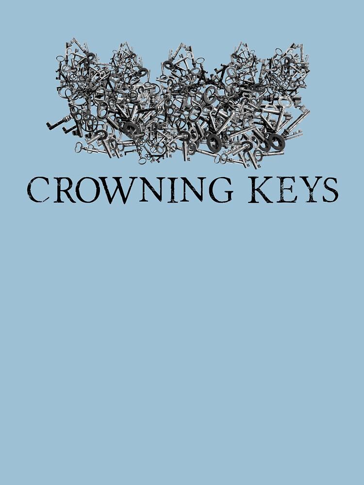 Crowning Keys Logo (Black) by catherinedownen