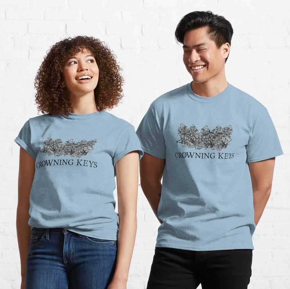 Crowning Keys Logo (Black) Classic T-Shirt