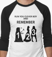 Run You Clever Boy And Remember Men's Baseball ¾ T-Shirt