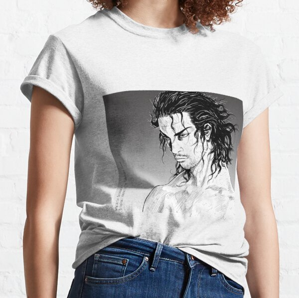 Miyamoto Musashi, style Takehiko Inoue T-shirt classique