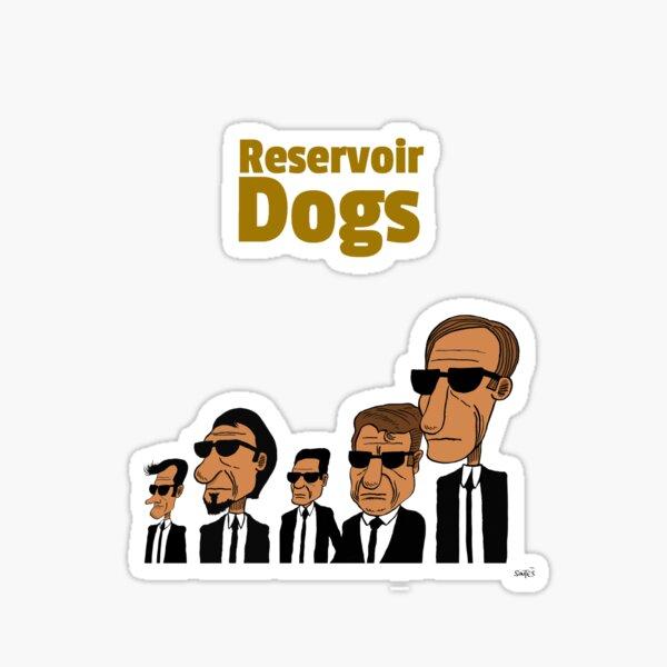 Dessin Fan-Art Reservoir  Sticker