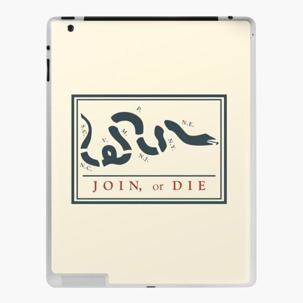 Ben Franklin Join or Die Cartoon Poster iPad Skin