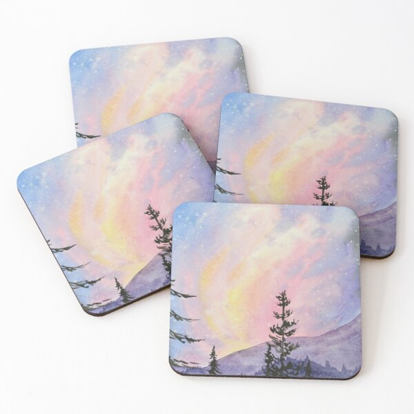 The Sky Dances Coasters (Set of 4)
