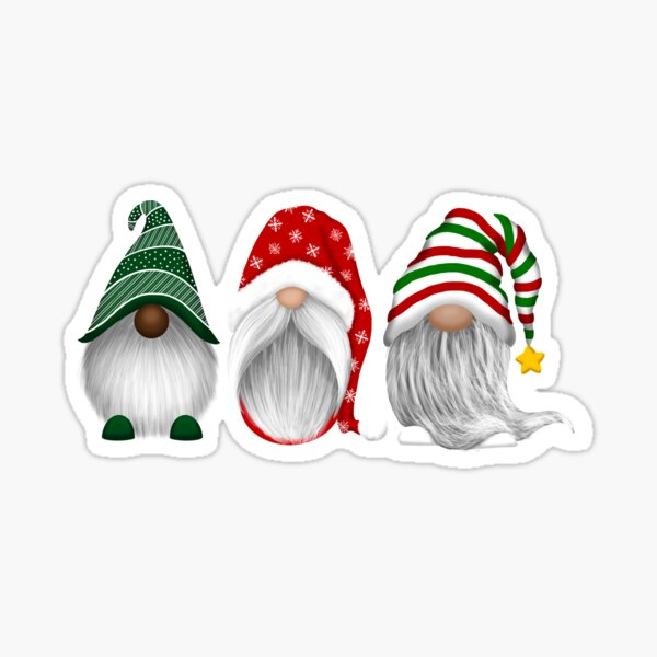 Holiday Gnomes Sticker