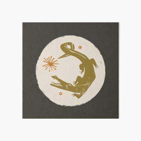 swamp Art Board Print