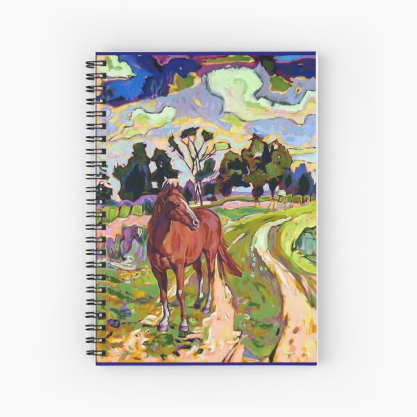 The Year of the Horse Spiral Notebook