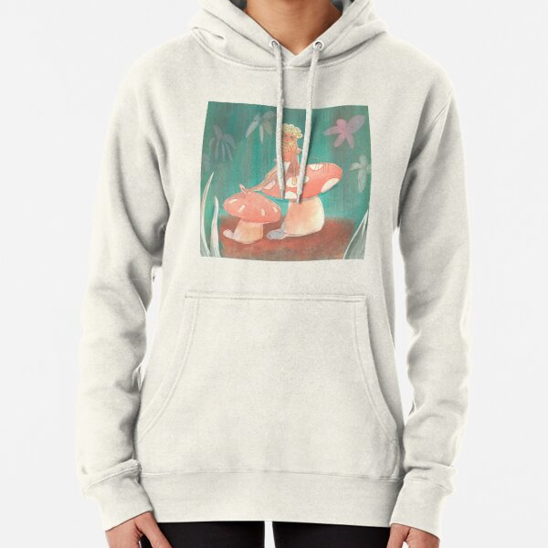 Thumbelina Sitting in the Grass Pullover Hoodie
