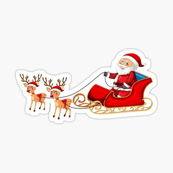 Santa Christmas Stickers  Sticker
