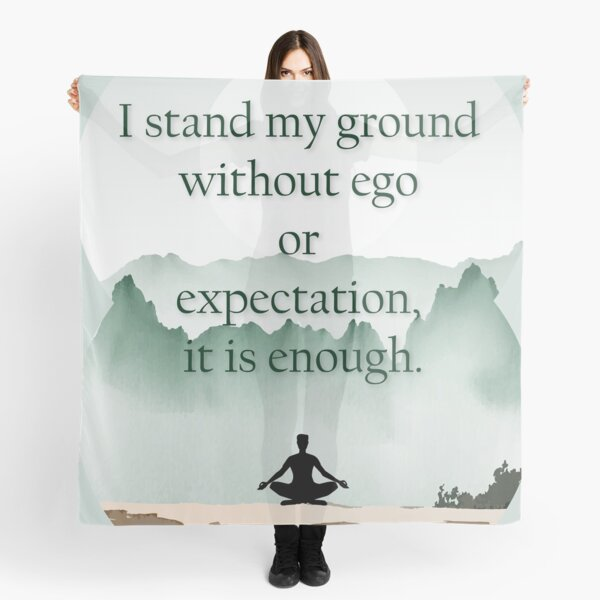 Stand your ground Scarf